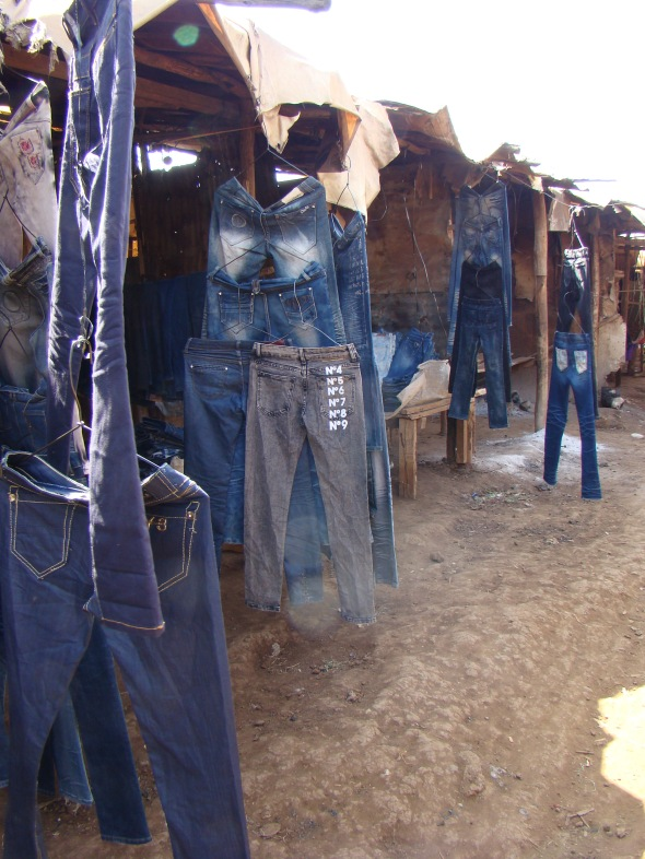 Plenty of denim here
